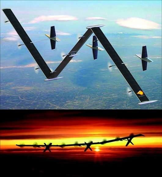 Avião solar terá autonomia de voo de cinco anos