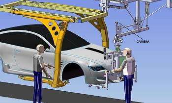 Tecnologia espacial chega à linha de montagem de automóveis