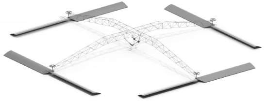 Helicóptero a pedal consegue sair do chão