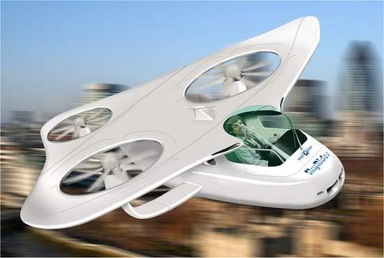 Europa quer substituir carros por helicópteros pessoais