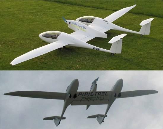 Aviões mais eficientes do mundo são elétricos