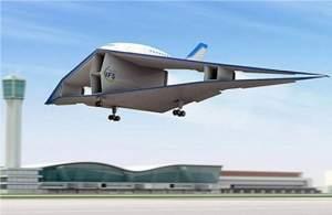 Avião biplano poderá ser o jato supersônico do futuro