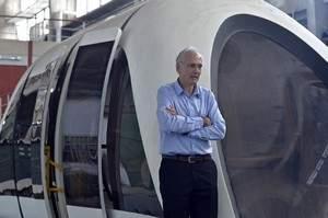 Trem de levitação magnética brasileiro começa a ser construído