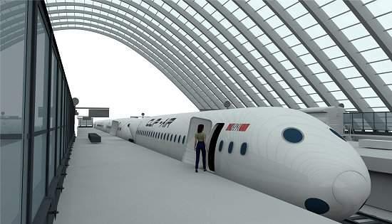 Avião modular: de casa ao destino no mesmo assento