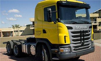 USP apresenta caminhão autônomo feito no Brasil