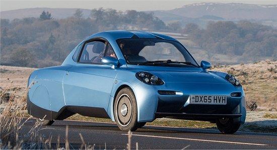 Reinventado, carro a hidrogênio tem autonomia de 480km