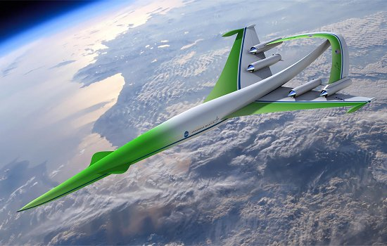 NASA construirá avião supersônico de passageiros
