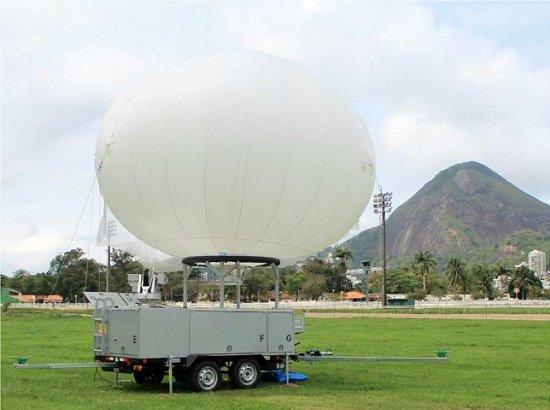 Conheça os balões que ajudarão na segurança das Olimpíadas