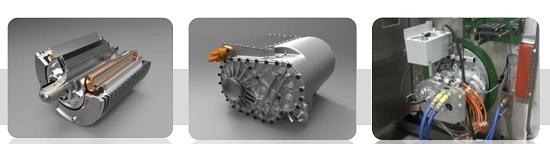 Motor de nova geração para carros elétricos