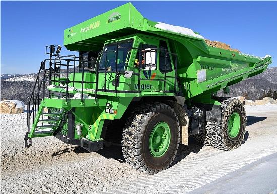 Maior caminhão elétrico do mundo não gasta energia para recarregar