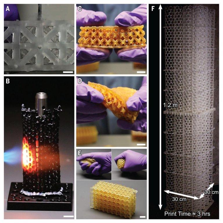Impressora 3D de alto rendimento produz peças prontas para a indústria