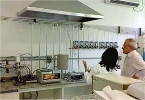Inaugurado laboratório de captura de CO2 e sensoriamento remoto marinho