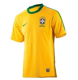 Nova camisa da seleção brasileira é colada e feita de material reciclado