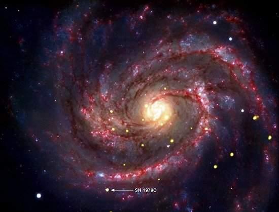 Buraco negro recém-nascido foi descoberto por astrônomo amador