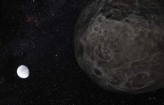 Planeta anão Éris é gêmeo de Plutão