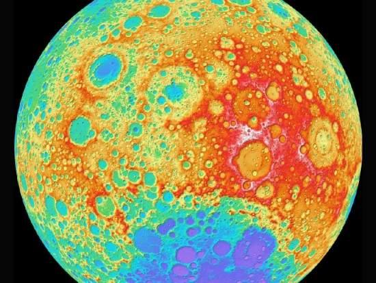 NASA divulga mais preciso mapa da Lua já feito