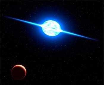 Estrela mais rápida que se conhece gira a 2 milhões de km/h