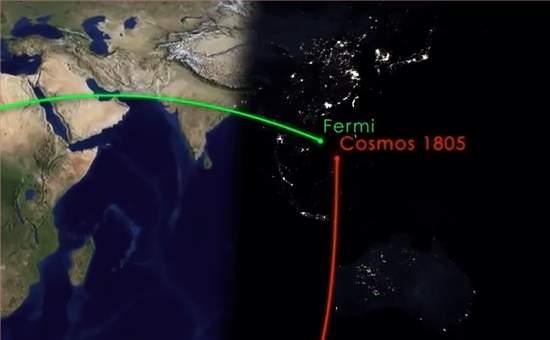 Telescópio Fermi escapa por pouco da destruição por lixo espacial