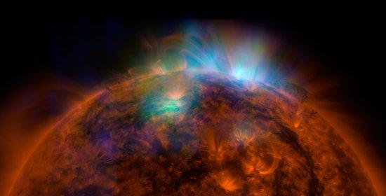 Telescópio revela mistérios do Sol em raios X