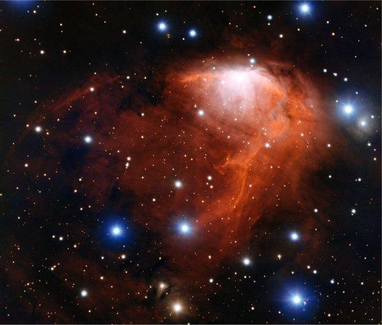 Nebulosa mostra fenômeno do