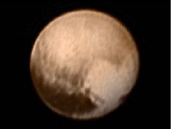 Sonda New Horizons chega a Plutão