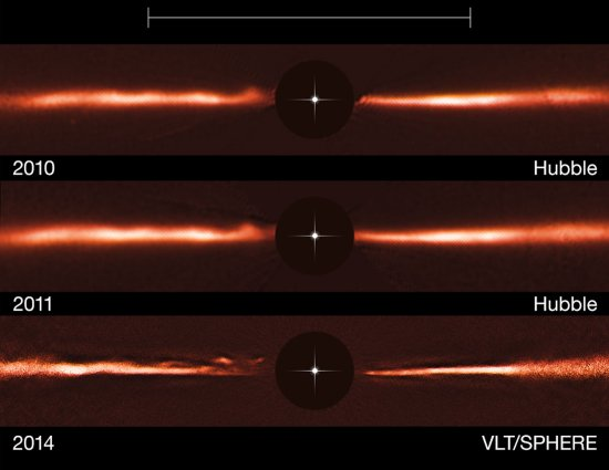Descobertas ondas misteriosas ao redor de estrela