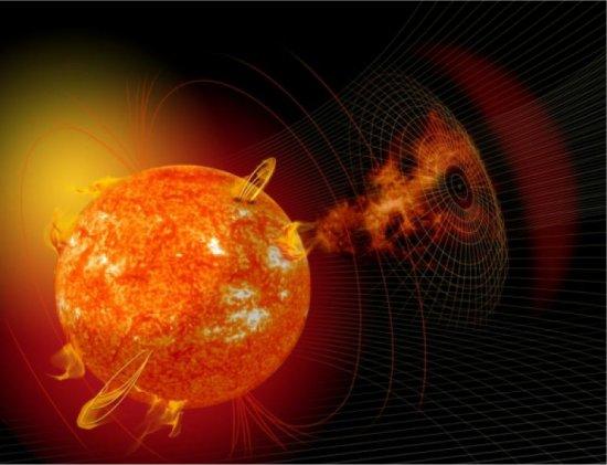 Brasileiros estudam ejeção de matéria pelo Sol