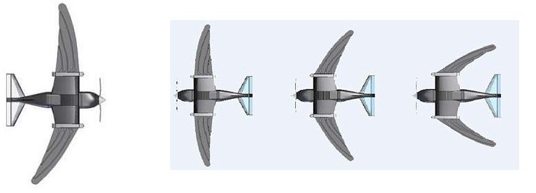 Robô-pássaro - Micro-avião voa como os pássaros