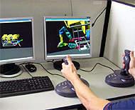 Simulador de robô submarino desenvolvido no Brasil ajudará P 010180071031-rov