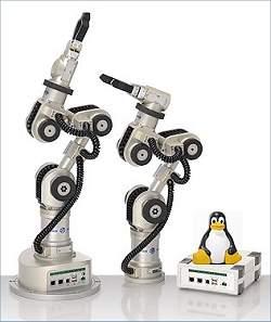 Braço robótico tem código aberto baseado em Linux