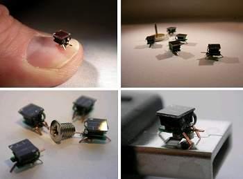 Microrrobôs que imitam insetos começam a ser fabricados em larga escala