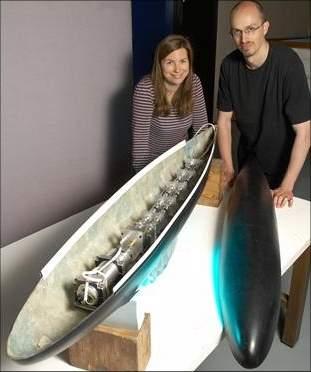 Submarino-robô usa propulsão inspirada em peixe-elétrico