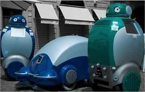 Robô-gari recolhe o lixo e ajuda as pessoas