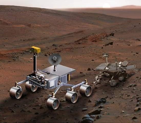 A Curiosidade do novo robô espacial da NASA