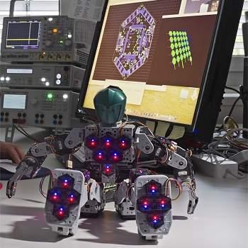 Pele robótica é construída célula por célula