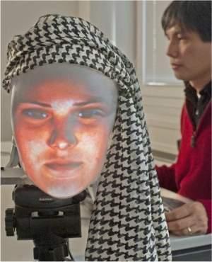 Máscara robô é o primeiro robô com face verdadeiramente humana