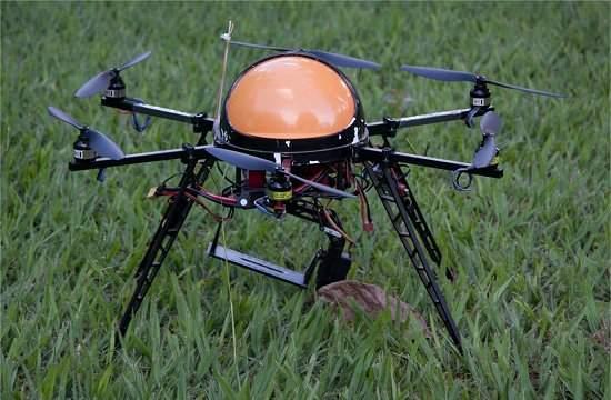 Drone brasileiro para monitoramento de águas