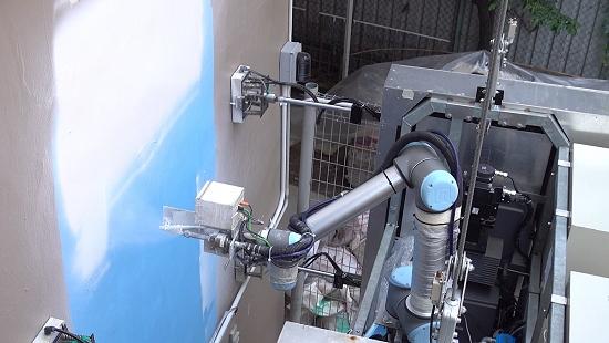 OutoBot: Robô limpa e pinta edifícios