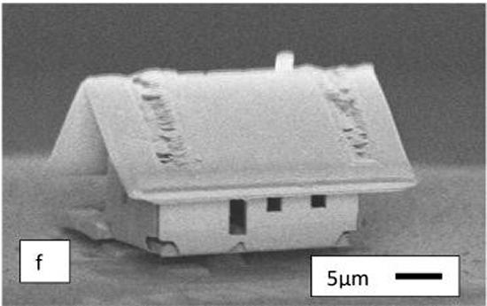 Nanofábrica monta menor casa do mundo