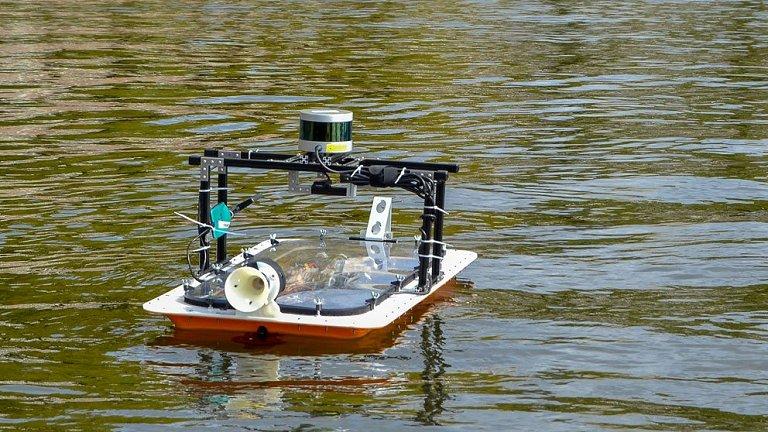 Barcos autônomos podem formar pontes e pátios dinâmicos