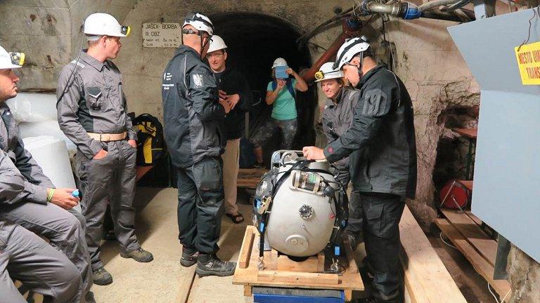 Robô minerador vai ajudar a reabrir minas abandonadas