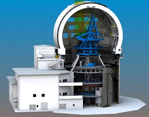 Maior telescópio solar do mundo começa a ser construído