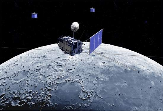 Sonda espacial japonesa choca-se com a Lua