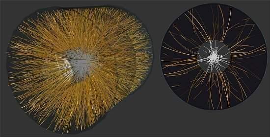 Primeiros resultados do LHC: universo primordial era líquido