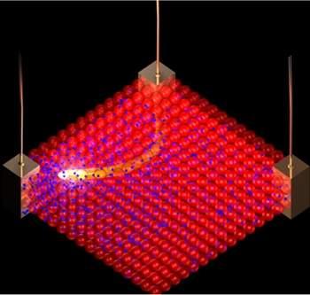 Nanomaterial híbrido acena com hardware reconfigurável