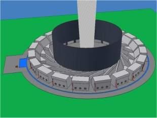 Motor de vórtex - Domando tornados para gerar energia
