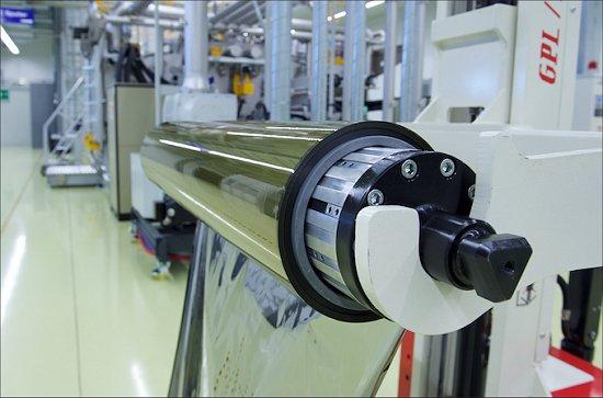 Painéis solares flexíveis vendidos por metro
