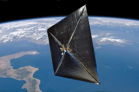 NASA começa teste com vela solar