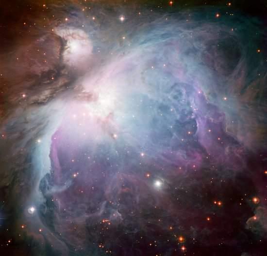 Nebulosa de Órion revela-se em outras cores