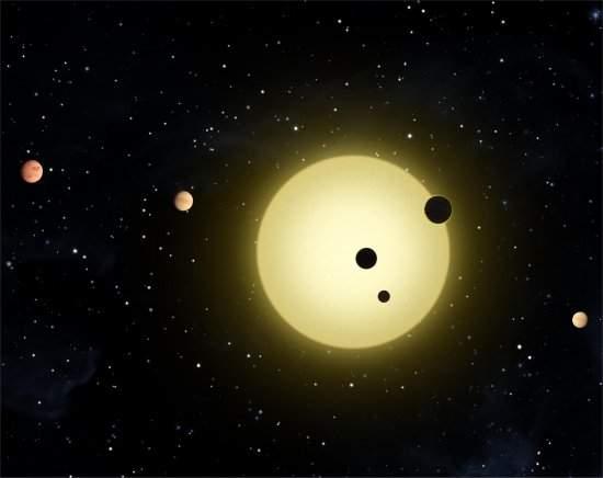 Sistema com seis planetas surpreende astrônomos